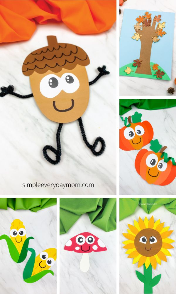 16+ Easy Fall Crafts For Kids