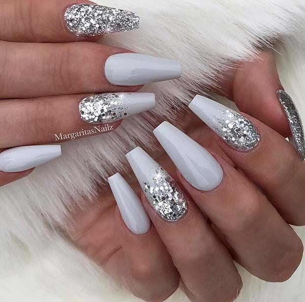 43 Beautiful Nail Art Designs for Coffin Nails | Page 2 of 4 | StayGlam