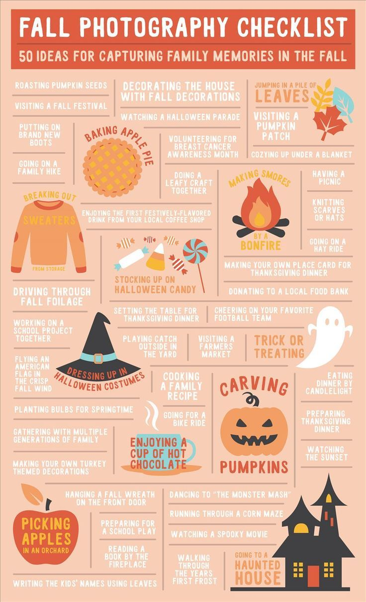50 Family Photo Ideas for Fall | Nations Photo Lab