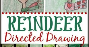 How to Draw a Reindeer: Easy Directed Drawing for Kids