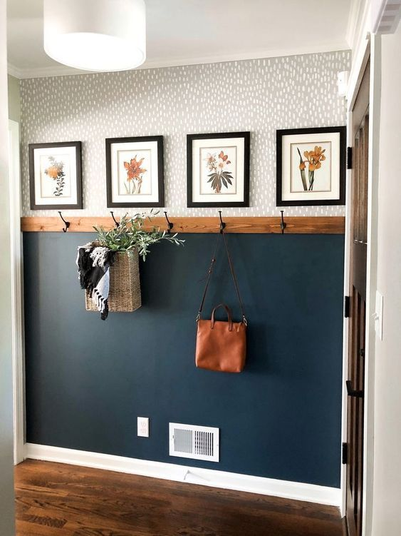Simple & Affordable Fall Entryway